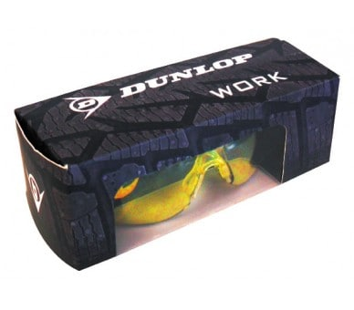 DUNLOP SPORT 9000 B (clear) - safety glasses with lenses for increased visibility
