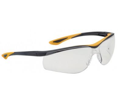 DUNLOP SPORT 9000 B (klar) - Schutzbrille mit Linsen für erhöhte Sichtbarkeit