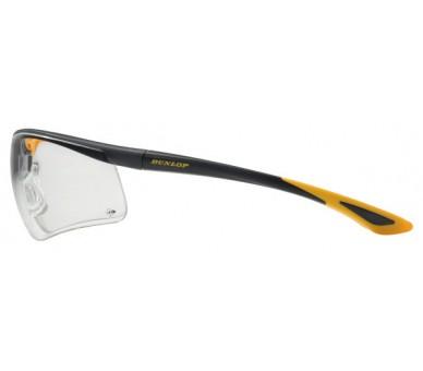 DUNLOP SPORT 9000 B (transparent) - lunettes de sécurité avec verres pour une meilleure visibilité
