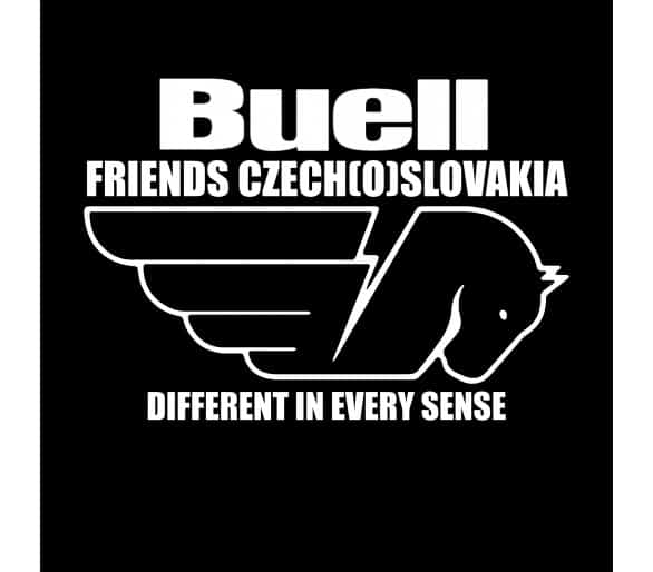 Patch Buellfriends Czech (o) Slovakia club oval 12 cm without name