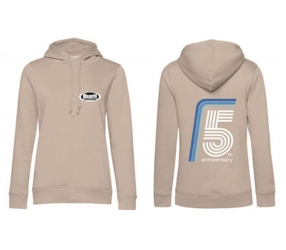 Hoodie Woman's Pink - 5th Anniversary of Buell Friends Czech(o)Slovakia
