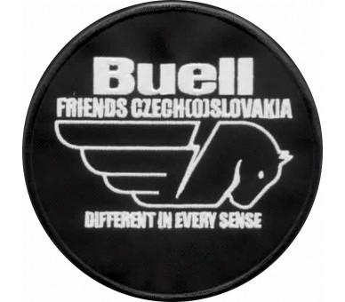 Naszywka Buellfriends Czech (o) Słowacja owalna 12 cm bez nazwy