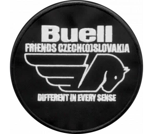 Aufnäher Buellfriends Czech (o) Slowakei Club Oval 12 cm ohne Namen