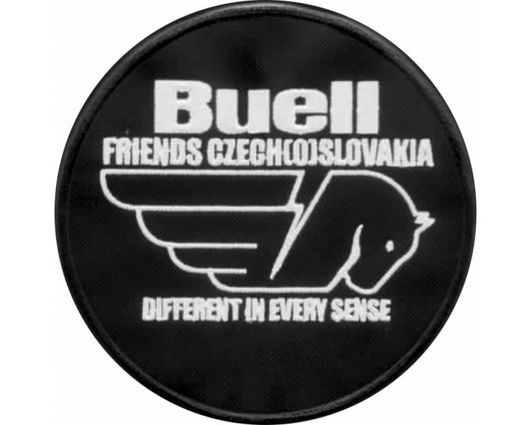 Applique Buellfriends Czech (o) Slovakia club ovale 12 cm senza nome