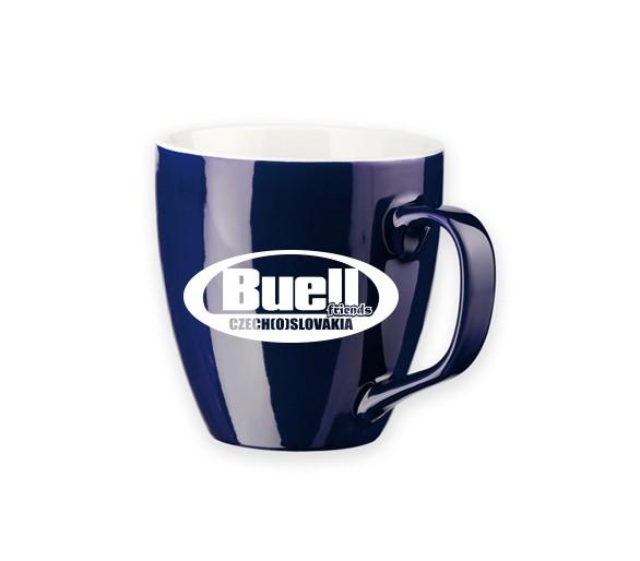 Mug bleu Buellfriends Tchèque (o) Slovaquie
