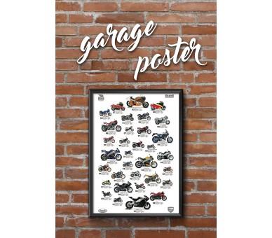 Plagát Buell Garage