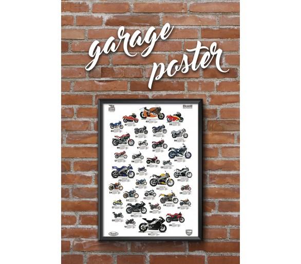 Affiche Buell Garage
